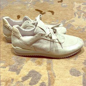 Johnston & Murphy women's suede sneakers